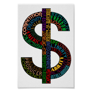 Dollar Sign Poster