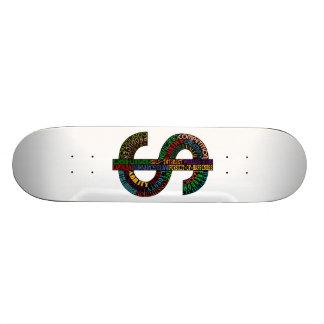 Dollar Sign Skateboard