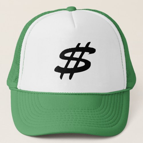 Dollar sign_Trucker Hat