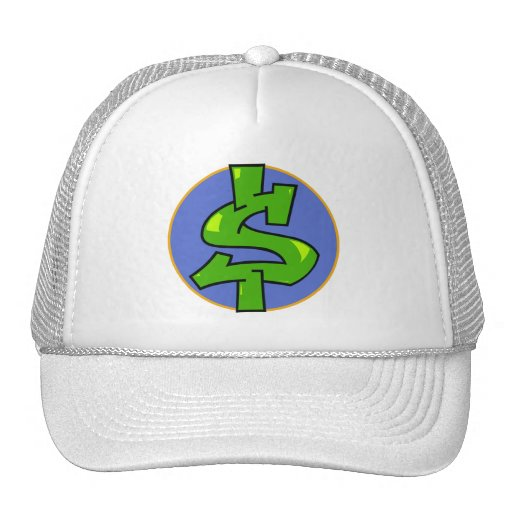 Dollar Sign Trucker Hat