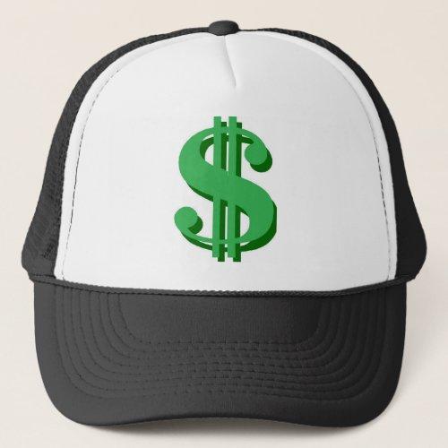dollar_sign trucker hat