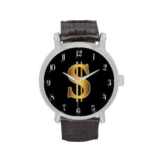 Dollar sign watch
