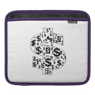 Dollar Signs iPad Sleeve