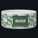 "Dollar symbol pattern bowl<br><div class=""desc"">This product has a pattern of dollar symbols</div>"