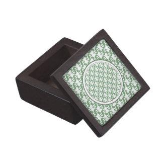 Dollar symbol pattern gift box