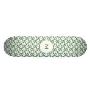 Dollar symbol pattern skateboard deck