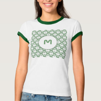 Dollar symbol pattern t shirts