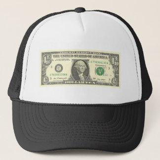 dollar ten trucker hat