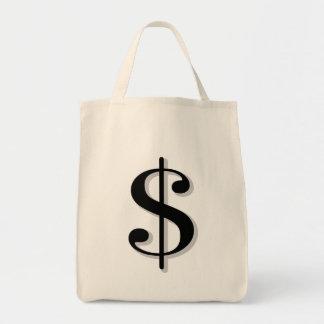 dollar tote bag