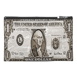 dollar,united states travel accessory bag