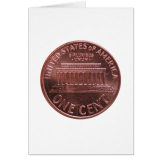 Dollar (USD) coin, currency of United States (USA) Card