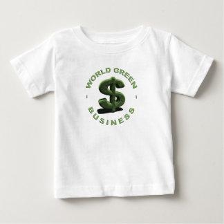 Dollar World Green Business Baby T-Shirt