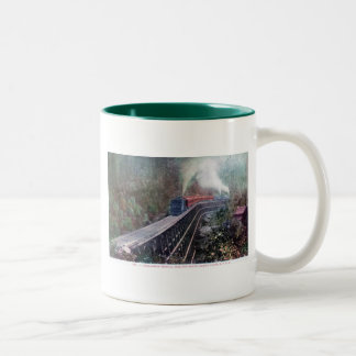 Dollarhide Trestle, Shasta Route, Southern Pacific Mug