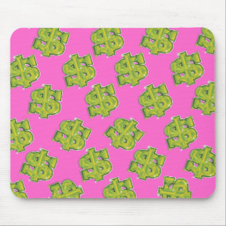 DOLLARS MOUSE PAD