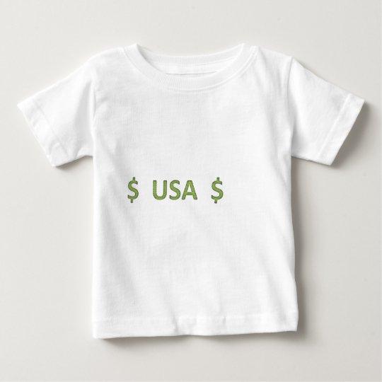 Dollars Retro Style 3 Baby T-Shirt