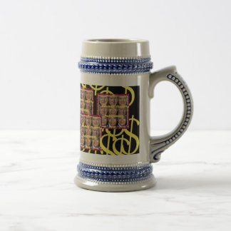DOLLARY CLUMPS 4president Presidential beer stein