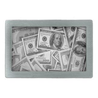 doller bills money stacks cash cents belt buckles
