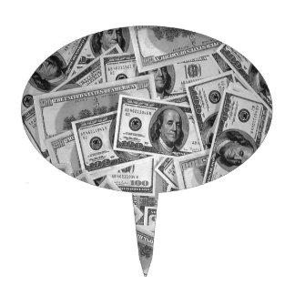 doller bills money stacks cash cents cake pick