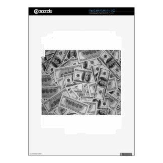 doller bills money stacks cash cents skins for the iPad 2