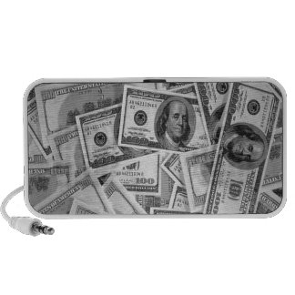 doller bills money stacks cash cents travelling speaker