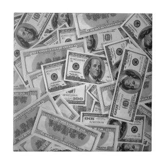doller bills money stacks cash cents tiles