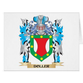 Doller Coat of Arms - Family Crest Greeting Card