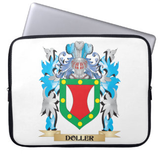 Doller Coat of Arms - Family Crest Computer Sleeve