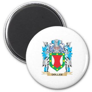 Doller Coat of Arms - Family Crest Fridge Magnet