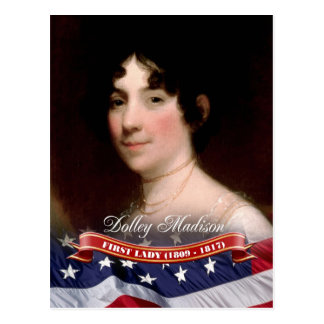 Dolley Madison, First Lady of the U.S. Postcard