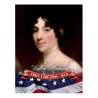 Dolley Madison, primera señora de los E.E.U.U. Postales