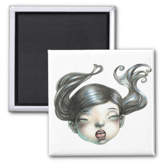 Dollface Yan Wei | 闫威 2 Inch Square Magnet