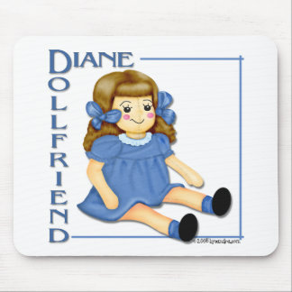 Dollfriend Mouse Pad