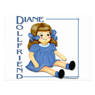 Dollfriend Postcard