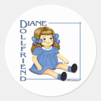 Dollfriend Sticker