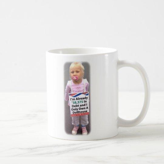 Dollhouse Debt Coffee Mug Zazzle
