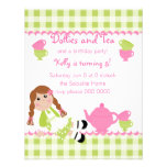 Dollies Tea Party Personalized Invitation