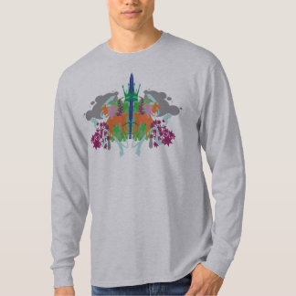 DollieYamma Color version Long Sleeve Green T-Shirt