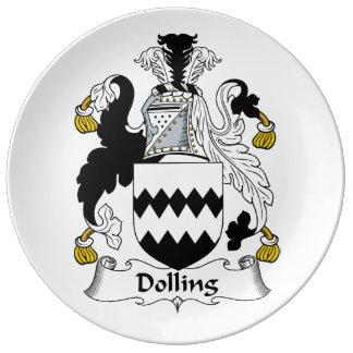 Dolling Family Crest Dinner Plate