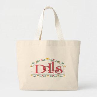 Dolls Jumbo Tote Bag