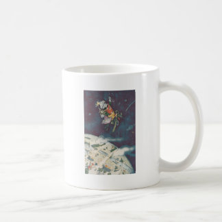 Dolls See Earth from Outer Space Classic White Coffee Mug