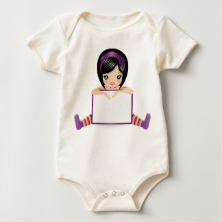 dolls sign full baby bodysuit