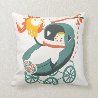 Dolly and Buggy Pillow