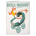 Dolly & Buggy Parade WPA Poster Card