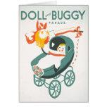 Dolly & Buggy Parade WPA Poster Card