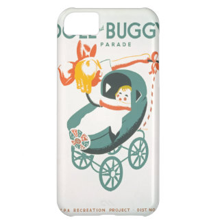 Dolly & Buggy Parade WPA Poster iPhone 5C Cover