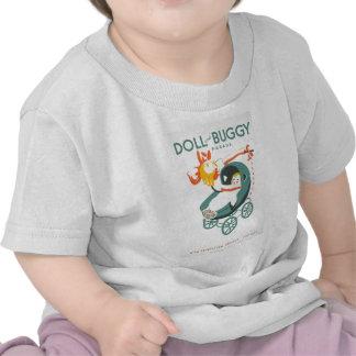 Dolly & Buggy Parade WPA Poster Tshirts
