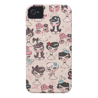 Dolly Chic Blackberry Case by Fluff