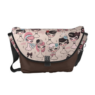 Dolly Chic Messenger Bag by Fluff