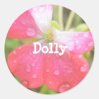 Dolly Classic Round Sticker