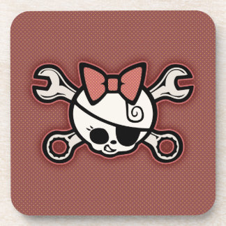 Dolly Cross Wrench Drink Coaster